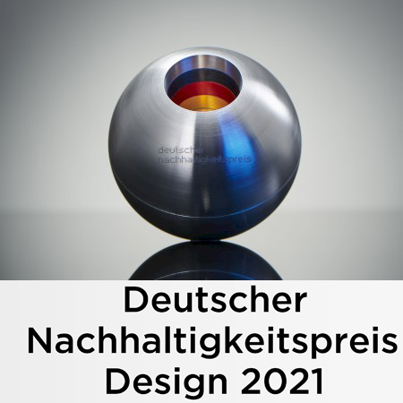 Winner of the German Sustainability Award Design 2021 – pioneers